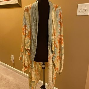 Free People kimono new with tag